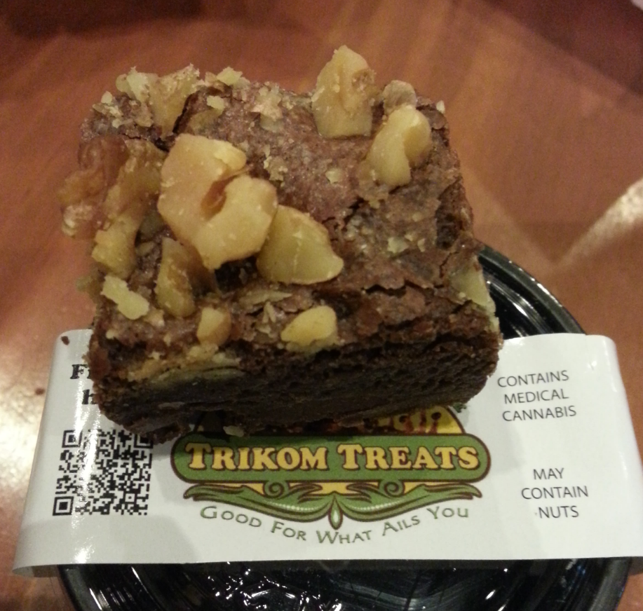 trikom treat brownie edible review oc review