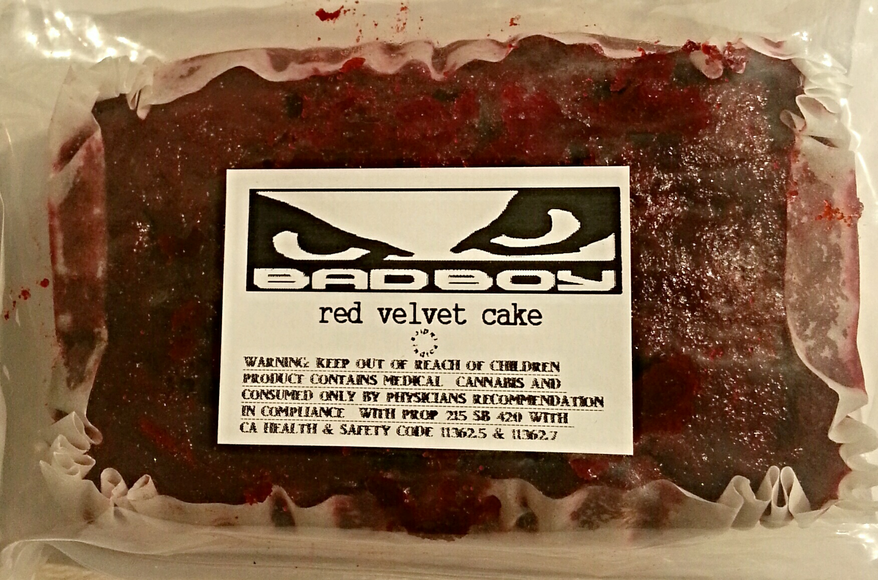 Edible Cake Images Review : Bad Boy Red Velvet Cake Edible Review OC Weed Review