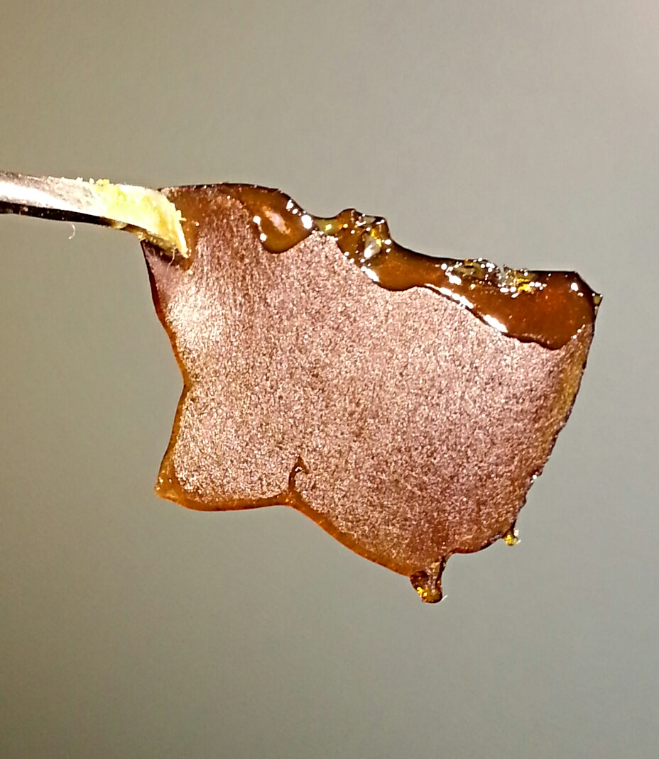 Blue Dream Shatter from Dank Depot Concentrate Review