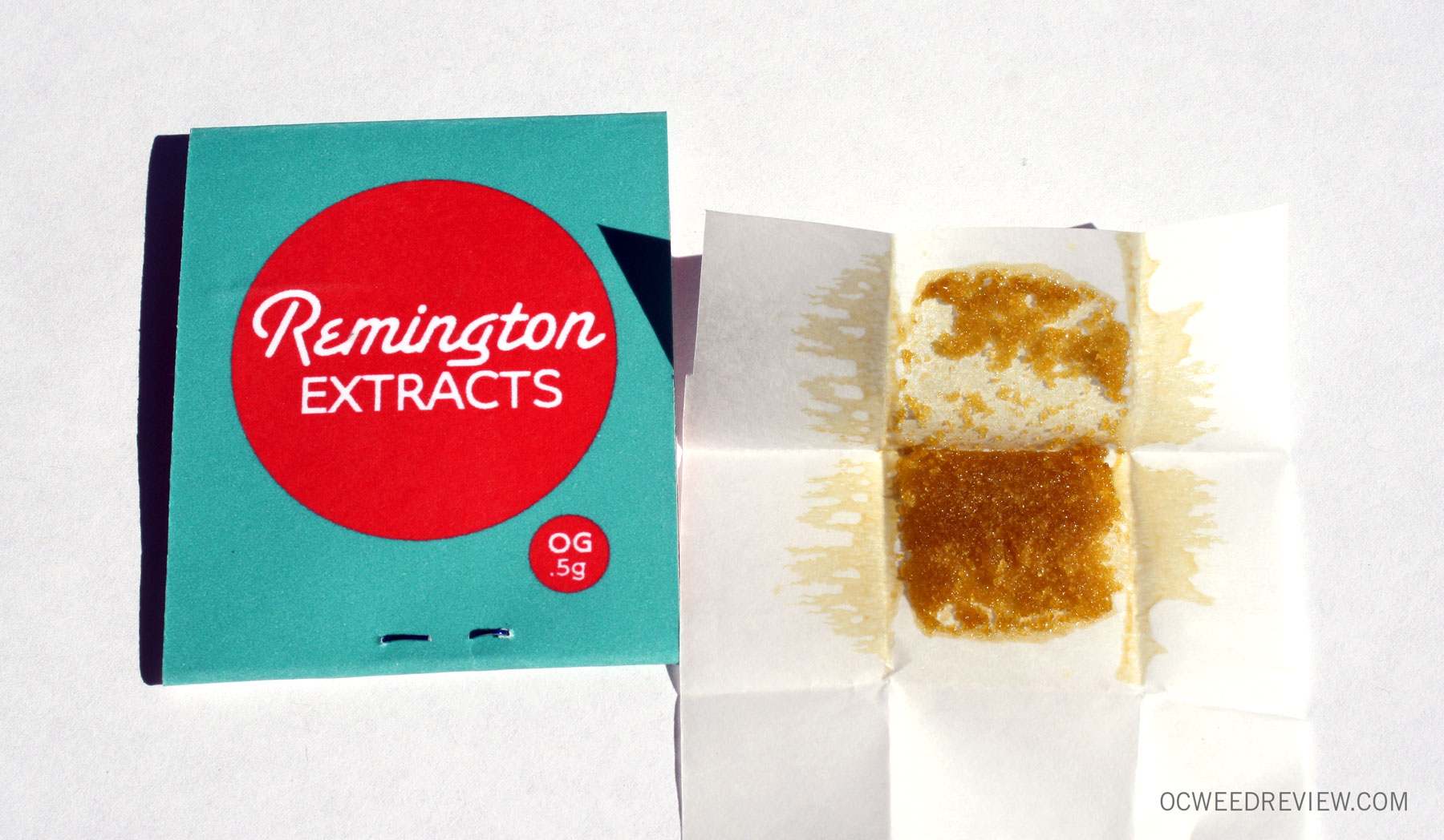 Remington Extracts OG #1 Space Crystals Extract Review