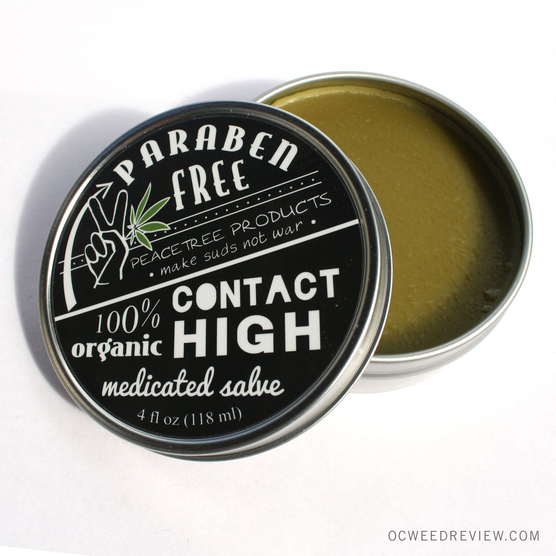 Peace Tree Products Contact High Medicated Salve