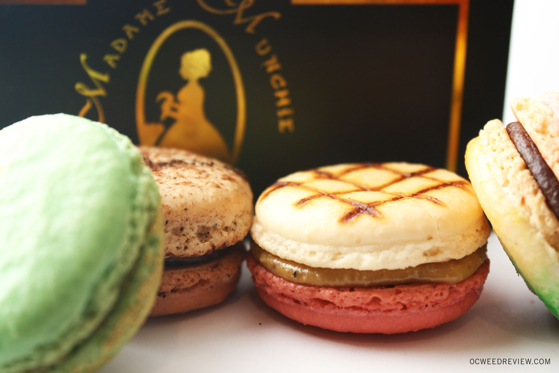 Madame Munchie Medicated Macarons Review