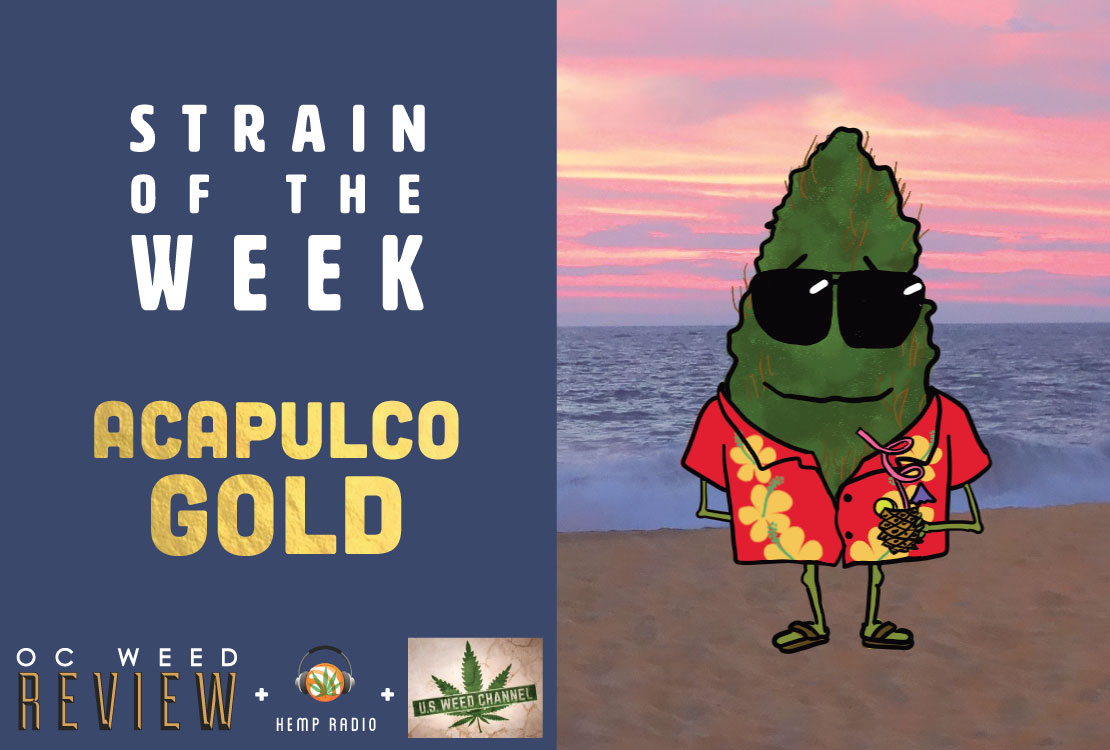 Strain of the Week: May 3, 2015 (Acapulco Gold)