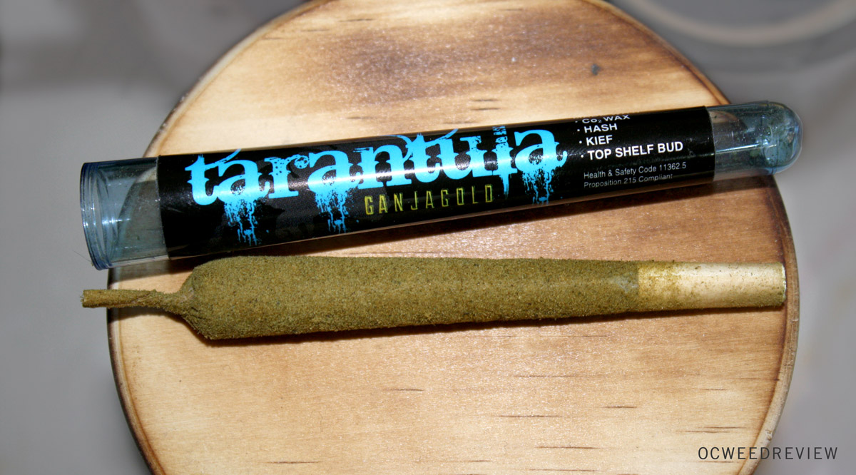 Ganja Gold Double Dream Tarantula Joint Review
