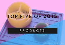 Top 5 Products of 2015