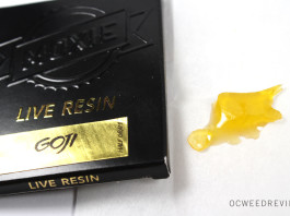 Moxie Extracts Goji Live Resin Review