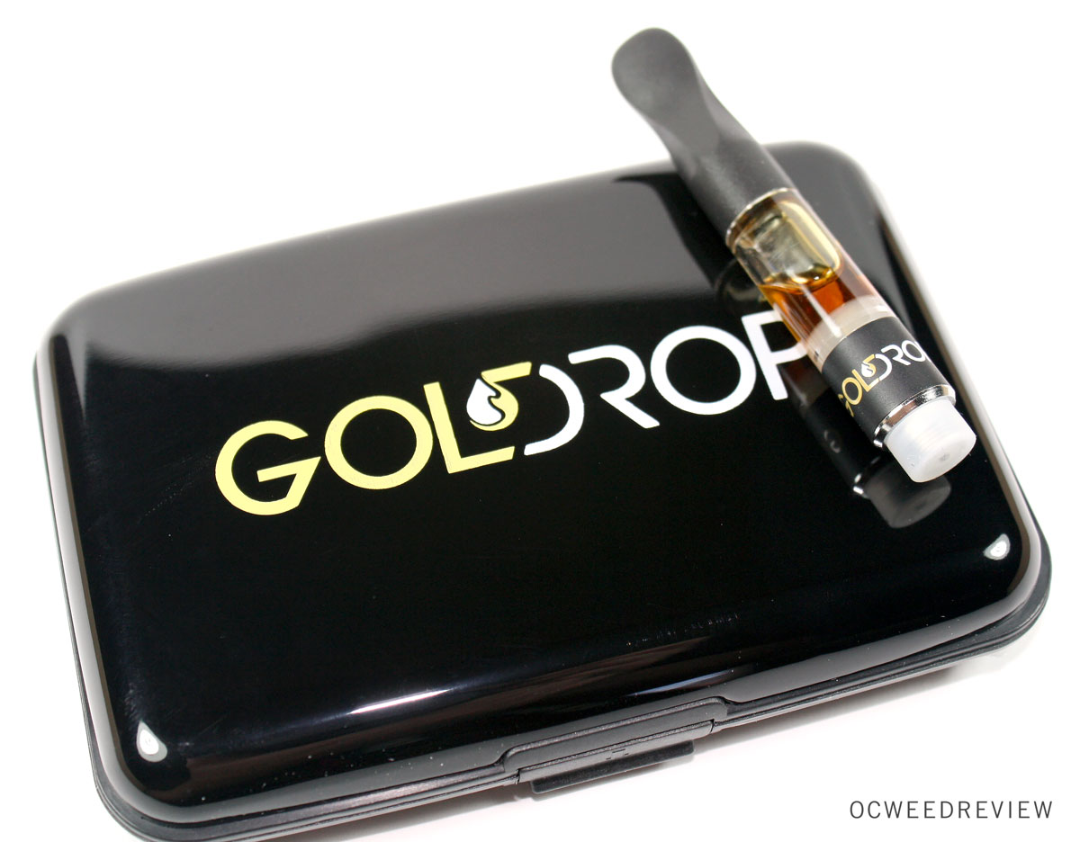 Gold Drop Trainwreck Vape Pen Review | OC Weed Review
